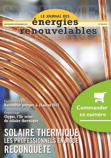 JOURNAL DES ÉNERGIES RENOUVELABLES N° 230