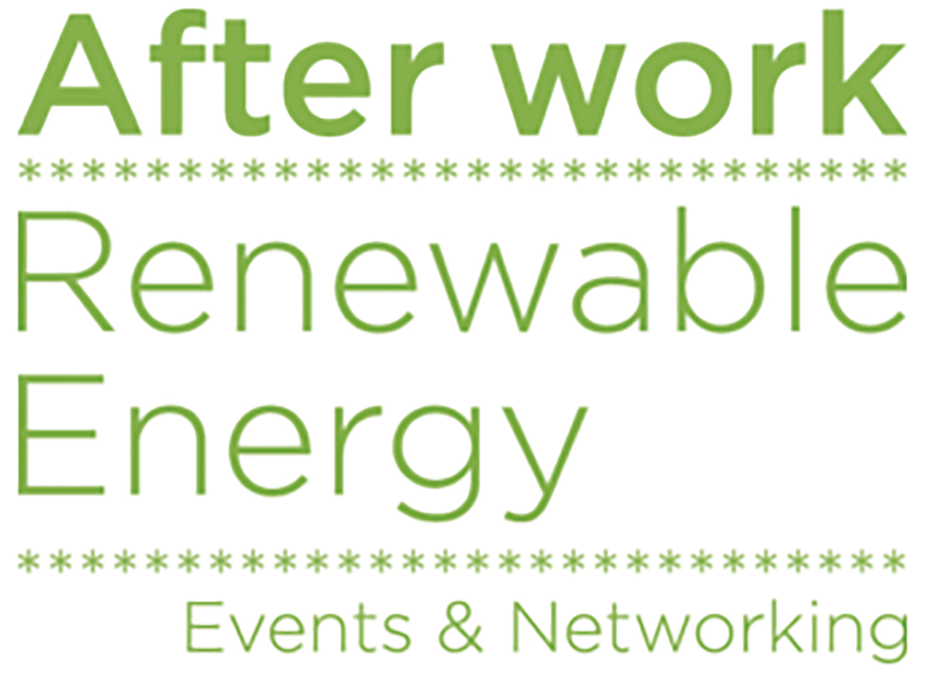 After work Énergies renouvelables